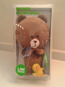 with 2000 Starhub points, you can either get Cony or Brown figurine :D